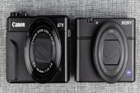 佳能G7XII VS 索尼RX100M4