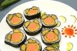 奥田蒸烤一体集成灶美食演示— 寿司