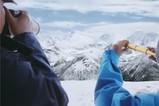 拍摄眼前的雪山 征服心里的高峰