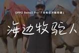 OPPO  Reno3 Pro:海边牧驼人