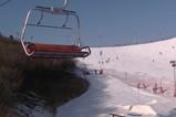 JVC GZ-R475BAC摄像机滑雪场实拍2