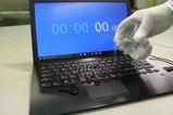 VAIO SX12 键盘防水功能测试