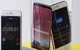 Galaxy S8 Plus  iPhone7 Plus防水测试