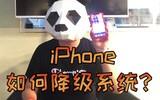 iPhone如何降级系统?