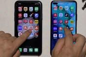 荣耀V30 PRO对比iPhone 11 PRO Max应用加载