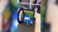 在现场:MWC 2019 华星光电折叠屏手机