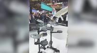 在现场:中兴5G展台,机械臂弹钢琴令人惊讶