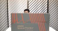 三星Space Monitor显示器开箱
