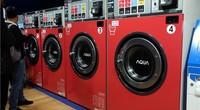 【AWE2019-在现场】AQUA商用洗/干衣机上手体验