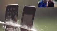 科技全视角:【暴力测试】武士刀怒劈 iPhone X 与 Galaxy S8