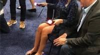 「在现场-CES2019」PS4 VR配件3D Rudder体验:美女直接上脚