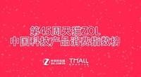 第45周天猫ZOL中国科技产品消费指数榜