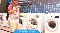 IFA2016现场直击(30):西门子展台干衣机介绍