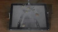 科技全视角:乔布斯气炸! 用水刀切割iPad, 切成一个带直线的苹果