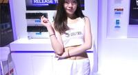 2018Chinajoy:白衣Showgirl带你逛影驰展台