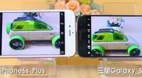 iPhone6P与三星S7对焦速度对比