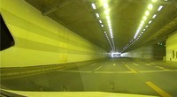 盯盯拍MIX3记录仪隧道行车视频