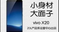 热点科技:小身材大面子 vivo X20手机快评