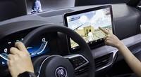 2018北京车展-体验比亚迪12.8英寸大屏