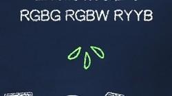 RGBG,RGBW,RYYB这几种不同的像素排列有什么区别