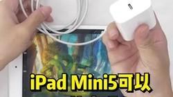 苹果iPadmini5支持快充吗?上手实测给你看