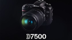 尼康D7500官方宣传视频