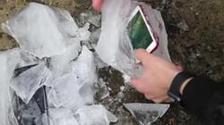 Galaxy S8 Plus和iPhone 7 Plus冰冻测试