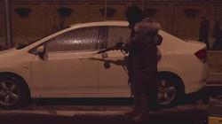 卡赫K2洗车机泡沫视频
