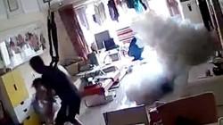 某品牌电动滑板车爆炸