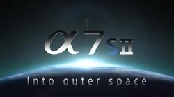 索尼 A7SII进入太空拍摄