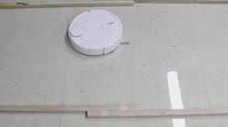岚豹激光扫地机器人清扫性能测试