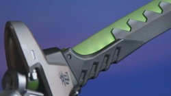 《守望先锋》出源氏模型刀 有灯有声音