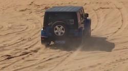 阿拉善沙漠豁车