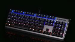 赛睿APEX M650 机械键盘 EQ灯效展示