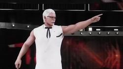 胡茬游戏:KFC游戏来了筋肉爷爷参加WWE