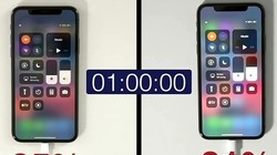 iPhoneX快充&慢充对比