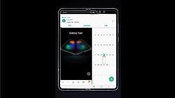 三星Galaxy Fold从通知打开新应用演示