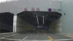 米家记录仪隧道行车视频
