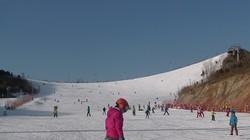 JVC GZ-R475BAC摄像机滑雪场实拍3