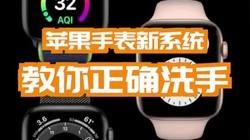 苹果手表新系统教你正确洗手#wwdc2020 #苹果 #苹果手表 #手表