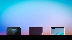 iPhone 12 Pro Max、三星 Note 20 Ultra、华为 Mate 40 Pro 对比