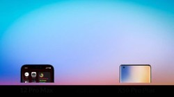 iPhone 12 Pro Max 对比 vivo X50 Pro+