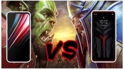 红魔5S对决拯救者电竞手机Pro 你选谁?#联想手机 #红魔#游戏手机