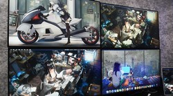 飞利浦显示器四联屏体验
