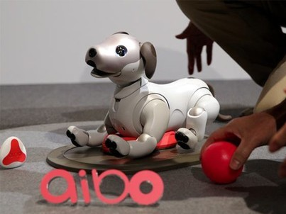 科技早报:死了18年索尼AIBO机器狗复活