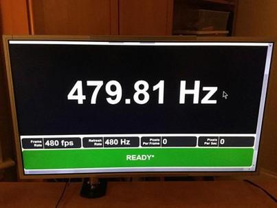 科技早报:480Hz刷新率显示器现身!