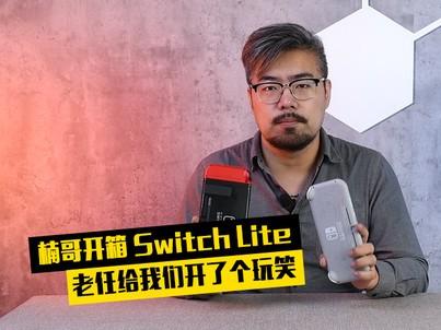 楠哥开箱:switch lite 老任的玩笑