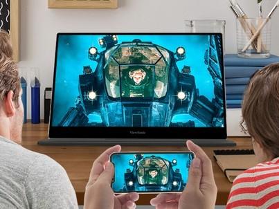 随心又随行!优派TD1601-4K便携显示器